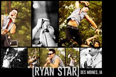 RYAN STAR performing in des moines, iowa www.lizabethphotography.com