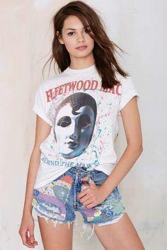 Vintage Fleetwood Mac Behind the Mask Tee - Vintage