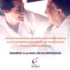 Que este dom de ajudar ao próximo se renove a cada dia. Parabéns! 12 de Maio - Dia da Enfermagem.