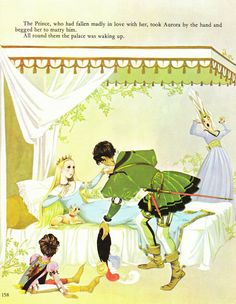 """Sleeping Beauty"" by Anne and Janet Grahame Johnstone"