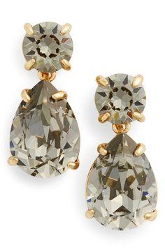 Kate Spade drop down earrings