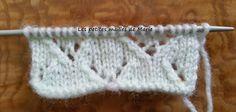 Les petites mailles de Marie: Les points tricot ajourés