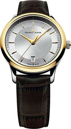 Maurice Lacroix Les Classiques LC1237-PVY11-130 Herrenarmbanduhr Sehr Elegant | Your #1 Source for Watches and Accessories
