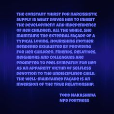 Narcissistic Mother-