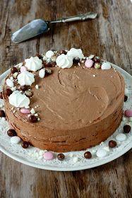 Suklaapossu: Raikas minttusuklaakakku No Bake Cake, Party Time, Cake Recipes, Pie, Sweets, Baking, Desserts, Food, Cakes
