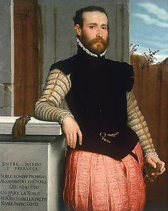 portrait of prospero alessandri by giovanni battista moroni, 1529-1578