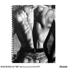 Spiral Notebooks.Great Gift idea. Beautiful Fine Art Drawing of a Male Body Builder printed on the Spiral  Notebook. Fast Worldwide shipping. $17.60