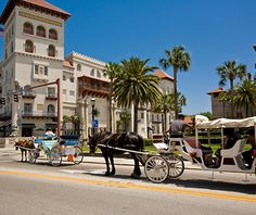 An oldie but a goodie, St. Augustine, FL is one of America's oldest (and most favorite) towns.