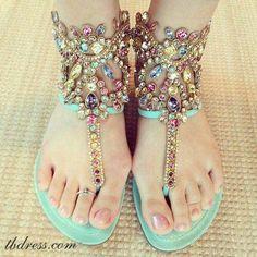 I like these sandals