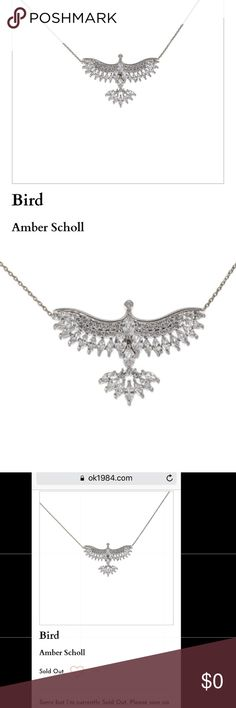 ISO ( In Search Of ) Amber Scholl CZ bird necklace Simulated diamond jewelry, beautiful bird necklace. Help your sistren out 🙏🌸💕✨ Arigato! ok1984 Jewelry Necklaces