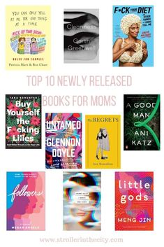 Top 10 Newly Released Books For Moms Books For Moms, Books To Buy, Books To Read, Roz Chast, Disney Fantasy Cruise, Eat Pray Love, Meant To Be Together, Quotes About Motherhood, All Family