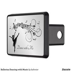 Ballerina Dancing with Music Hitch Cover Dance All Day, Ballerina Dancing, Dance Photos, Small Cars, Your Design, Let It Be, Cover, Music, Prints