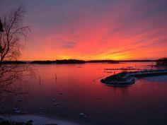 Sunset@Helsinki, Lauttasaari
