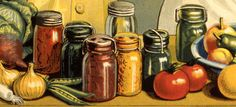 Detail of a vintage poster from the Canadian Food Board