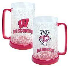 Wisconsin Badgers Freezer Mug