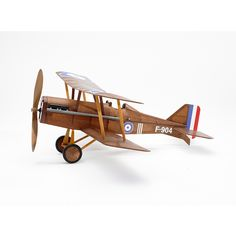 RAF WWI Bi-plane model airplane complete vintage model rubber-powered balsa wood aircraft kit that really flies! by Vintage Model Co. by Vintage Model Co. Balsa Wood Models, Model Supplies, Patterned Sheets, Vintage Models, Model Airplanes, Wood Toys, Construction, Airplane Bedroom, Kinetic Toys