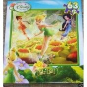 Disney Fairies TinkerBell Morning Glory 63 Piece Puzzle