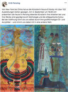 Ausstellungseröffnung 3. September New York, September, Group, Artist, Painting, Mythology, Culture, Kunst, New York City