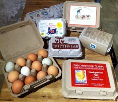 Packaging: Eggs