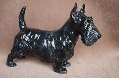 VTG Large Royal Doulton Albourne Arthur SCOTTISH TERRIER Dog HN1008 Bone China
