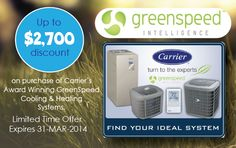 Greenspeed AC and Heater Special