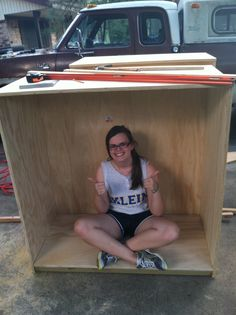 Lauren organized a toy drive and built toy cabinets for an outreach program at a local church to earn the Gold Award.