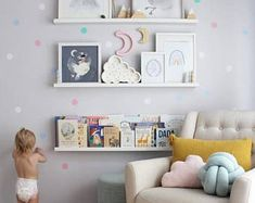 21 Trendy Ideas For Baby Room Wall Decor Book Storage Baby Nursery Diy, Baby Nursery Furniture, Baby Room Diy, Baby Bedroom, Diy Baby, Nursery Room, Bedroom Wall, Nursery Ideas, Room Ideas