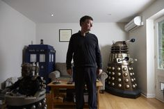 Steven Moffat on his early years, overcoming his shyness, and the pressures of running Doctor Who and Sherlock | Click through for interview