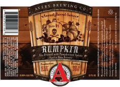 Avery's Rumpkin returns. The brewery ages their pumpkin ale in rum barrels, and the result is a fall symphony in a hard to find bottle. This first member of the Annual Barrel-Aged Series (along with Uncle Jacob's Stout) is brewed with organic pumpkins and spiced with nutmeg, cinnamon, and ginger. The release party is at the Boulder, Colorado brewery. Each 12oz bottle is $12 dollars. 1 case max per person. Rumpkin Raffle Benefits the Foothills Flood Relief Fund.