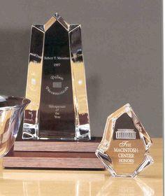 Engraved Sample Awards