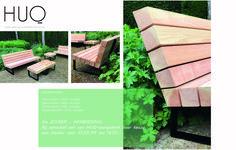 HUQ Douglas Loungebank Gartenbank Design by studioHUQ - Fast Furniture, Outside Furniture, Outdoor Furniture Sets, Outdoor Decor, Outdoor Ideas, Furniture Ideas, Dutch Gardens, Small Front Gardens, Firewood