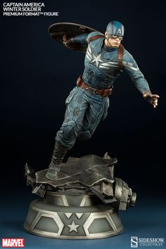 captain america sideshow  | Captain America Premium Format™ Figure by Sideshow Collectibles