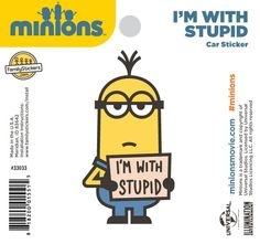 Illumination Studios, Family Stickers, Minions Despicable Me, Presentation Layout, Universal Studios, Stupid, Funny Things, Iphone, Kids