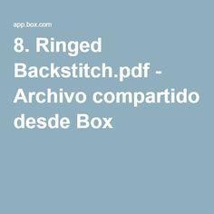 8. Ringed Backstitch.pdf - Archivo compartido desde Box