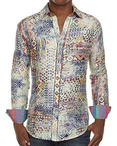 "Robert Graham Limited Edition Shirt ""Zanolli"" with Abstract Design (Medium) Robert Graham http://www.amazon.com/dp/B00LU5JVPO/ref=cm_sw_r_pi_dp_9AX9tb187K48H"