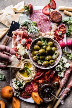 Greek Inspired Antipasto Platter More