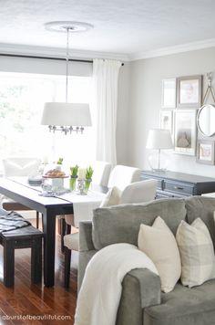 living room dining room makeover. Interior Design Ideas. Home Design Ideas