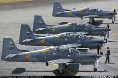 Força Aérea Colombiana - EMB-312 Tucano http://www.planobrazil.com/embraer-vai-modernizar-14-tucano-da-colombia/