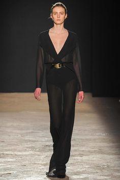 Francesco Scognamiglio Fall 2014 Ready-to-Wear Fashion Show - Sigrid Agren