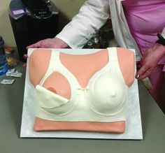Cake a Texas hospital made to celebrate IBCLC Day! #breastfeeding