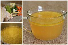 Chicken Stock in the Pressure Cooker - easy and fast in the pressure cooker