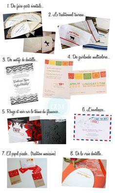 faire-part-theme-espagne http://yesidomariage.com - Conseils sur le blog de mariage