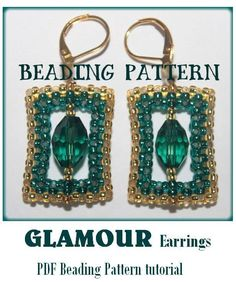 Beading pattern GLAMOUR