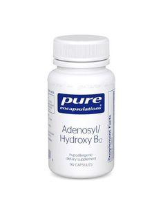 Pure Encapsulations, Adenosyl/Hydroxy B12, 90 caps