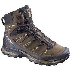 f9aea626af Salomon Men's X Ultra Trek GTX Waterproof Hiking Boots, Absolute  Brown/Black/Navajo