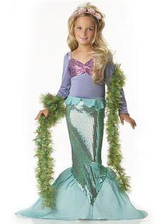 Little Mermaid Childrens Costume