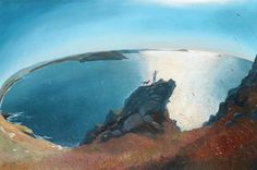 Towards the Camel Estuary - signed print by Nicholas Hely-Hutchinson