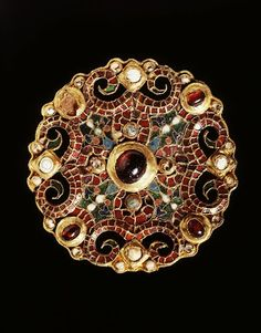 6dcd99fc7ab Brooch found at the bottom of a well in the Dutch town of Wijk bij  Duurstede in Believed to have ended up there around 850 CE
