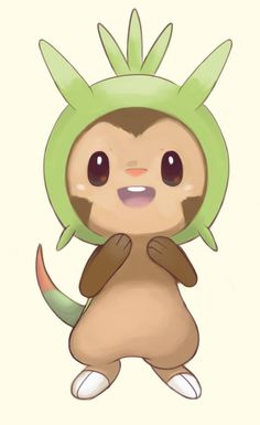 Chespin Sketch by staticwind.deviantart.com on @DeviantArt