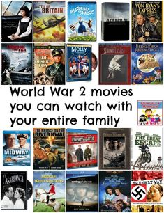 World War 2 movies to watch with your kids